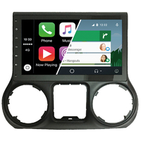Ecran tactile Android Auto et Carplay GPS Wifi Bluetooth Jeep Wrangler