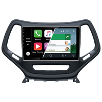 Ecran tactile Android Auto (option Carplay) GPS Wifi Bluetooth Jeep Cherokee de 2013 à 2017
