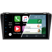Ecran tactile Android Auto et Carplay GPS Wifi Bluetooth Mazda 3 de 2004 à 2009