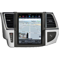 Tablette tactile Tesla Style Toyota Highlander depuis 2015 : Android 7.1 GPS Wifi Bluetooth
