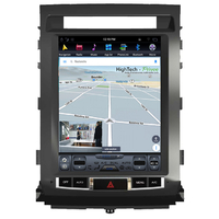 Tablette tactile Tesla Style Toyota Land Cruiser 200 de 2007 à 2013 : Android 7.1 GPS Wifi Bluetooth