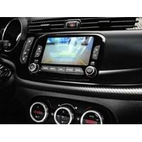 Interface multimédia A/V et caméra de recul pour Alfa Romeo Giulietta depuis 2014, Fiat 500X et Jeep Renegade avec Uconnect 6,5 Radio Nav LIVE