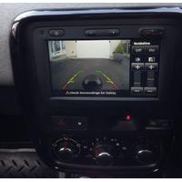 Interface caméra de recul & vidéo Dacia Lodgy Logan Dokker Duster et Sandero et Fiat Talento avec autoradio MediaNav