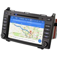 Autoradio Android 8.0 GPS Wifi Mercedes Benz Classe A, Classe B, Vito, Viano, Sprinter & Volkswagen Crafter