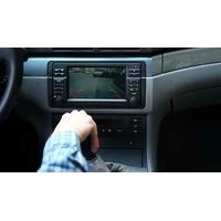 Boitier vidéo avec une entrée caméra de recul BMW X3 E83 et BMW Série 3 E46, BMW X5 E53 avec Navigation 16:9