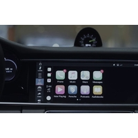 Apple CarPlay et AndroidAuto sur Porsche Panamera depuis 2017