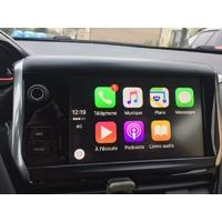 Ajouter la fonction Apple CarPlay et Android Mirroring sur Peugeot 208, 2008, 308 et Peugeot 508 de 2014 à 2016