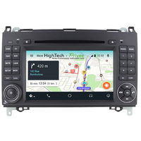 Autoradio Android 9.0 GPS Wifi Mercedes Benz Classe A, Classe B, Vito, Viano, Sprinter & Volkswagen Crafter
