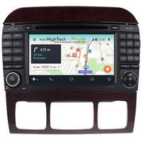 Autoradio Android 9.0 GPS Mercedes Benz Classe S W220 et SL R230 de 07/2004 à 2009