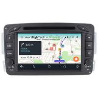 Autoradio Android 9.0 écran tactile GPS Mercedes Classe A W168, Classe C W203, Classe E W210, ML W163, CLK, SLK W170, Classe G, Viano & Vito