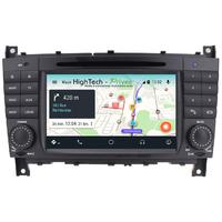 Autoradio Android 9.0 GPS Mercedes Benz Classe C W203 et CLC