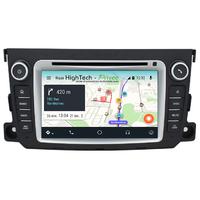 Autoradio Android 9.0 GPS écran tactile Wifi Smart Fortwo de 2010 à 2015