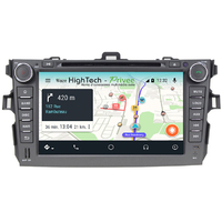 Autoradio Android 9.0 écran tactile GPS DVD Toyota Corolla de 2006 à 2011