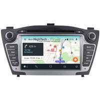 "Autoradio GPS Wifi Bluetooth Android 9.0 Hyundai IX35 de 2010 à 2013 - écran 7"""