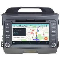 Poste Android 9.0 GPS Waze Wifi écran tactile Kia Sportage de 2010 à 2013