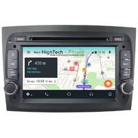 Autoradio DVD Waze Android 9.0 tactile Fiat Doblo et Opel Combo depuis 2015