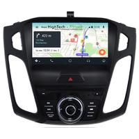 Autoradio Android 9.0 GPS écran tactile Ford Focus de 2015 à 2018