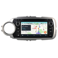 Autoradio Android 9.0 GPS écran tactile Wifi Toyota Yaris de 10/2011 à 07/2014