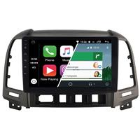 Ecran tactile Android Auto (option Carplay) GPS Wifi Bluetooth Hyundai Santa Fe de 2006 à 2012