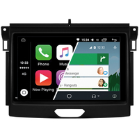 Ecran tactile Android Auto (option Carplay) GPS Wifi Bluetooth Ford Ranger depuis 2015