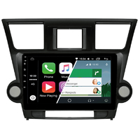 Ecran tactile Android Auto (option Carplay) GPS Wifi Bluetooth Toyota Highlander de 2008 à 2013