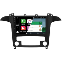 Ecran tactile Android Auto (option Carplay) GPS Wifi Bluetooth Ford S-Max de 2006 à 2015