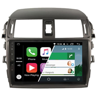 Ecran tactile Android Auto (option Carplay) GPS Wifi Bluetooth Toyota Corolla de 2008 à 2013