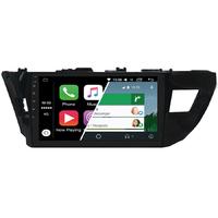 Ecran tactile Android Auto (option Carplay) GPS Wifi Bluetooth Toyota Corolla de 2014 à 2016