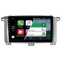 Ecran tactile Android Auto (option Carplay) GPS Wifi Bluetooth Toyota Land Cruiser 100