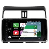 Ecran tactile Android Auto (option Carplay) GPS Wifi Bluetooth Toyota Prado depuis 2018