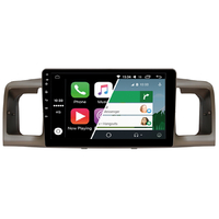 Ecran tactile Android Auto (option Carplay) GPS Wifi Bluetooth Toyota Corolla de 2004 à 2007