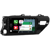 Ecran tactile Android Auto (option Carplay) GPS Wifi Bluetooth Toyota Hilux depuis 2015