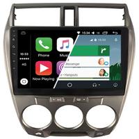 Ecran tactile Android Auto (option Carplay) GPS Wifi Bluetooth Honda City de 2008 à 2011