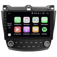 Ecran tactile Android Auto (option Carplay) GPS Wifi Bluetooth Honda Accord de 2003 à 2008