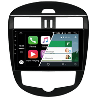 Ecran tactile Android Auto (option Carplay) GPS Wifi Bluetooth Nissan Pulsar de 2015 à 2018