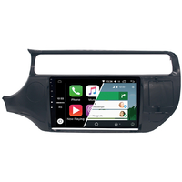 Ecran tactile Android Auto (option Carplay) GPS Wifi Bluetooth Kia Rio de 2015 à 2017