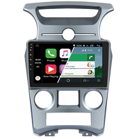 Ecran tactile Android Auto (option Carplay) GPS Wifi Bluetooth Kia Carens de 2007 à 2011