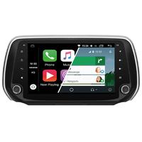 Ecran tactile Android Auto (option Carplay) GPS Wifi Bluetooth Hyundai Santa Fe depuis 2018