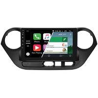 Ecran tactile Android Auto (option Carplay) GPS Wifi Bluetooth Hyundai i10 de 2013 à 2016