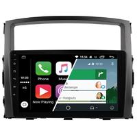 Ecran tactile Android Auto (option Carplay) GPS Wifi Bluetooth Mitsubishi Pajero de 2006 à 2015