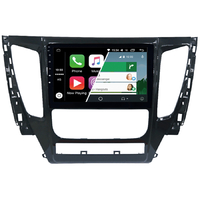Ecran tactile Android Auto (option Carplay) GPS Wifi Bluetooth Mitsubishi Pajero depuis 2015