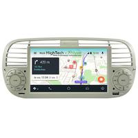Autoradio Android 10 GPS Fiat 500 de 2007 à 2015