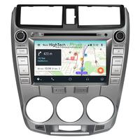 Autoradio écran tactile Android 9.1 GPS Wifi Honda Jazz de 2008 à 2012