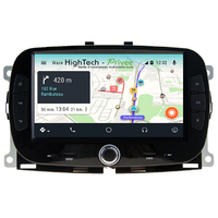 Autoradio Android 9.0 GPS Waze Bluetooth Wifi Fiat 500 depuis 2016