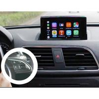 Ajouter la fonction Apple CarPlay et Android Mirroring sur Audi Q3 de 2015 à 2018