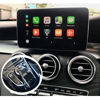 Apple CarPlay pour Mercedes Classe A/B/C, CLA, GL, GLA, GLC et GLE et Mercedes CLS et Classe S avec NTG5.0 à NTG5.2 de 2015 à 2018