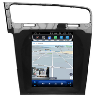 Tablette tactile Tesla Style Volkswagen Golf 7 : Android 9.0 GPS Wifi Bluetooth