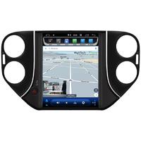 Tablette tactile Tesla Style Volkswagen Tiguan de 2007 à 2016 : Android 9.0 GPS Wifi Bluetooth