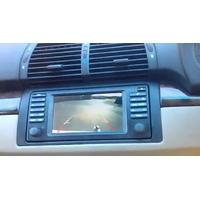 Boitier vidéo avec une entrée caméra de recul BMW X5 E53 avec Navigation 16:9