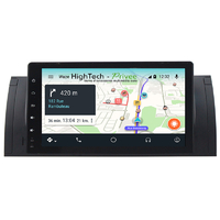 Autoradio GPS Android 9.0 écran tactile BMW X5 E53